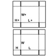 03形 テレスコープ形 展開図