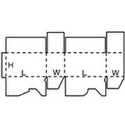 07形 のり付け簡易組立て形 展開図